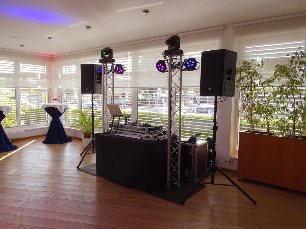 DJ Equipment für eine Hochzeit in Templin