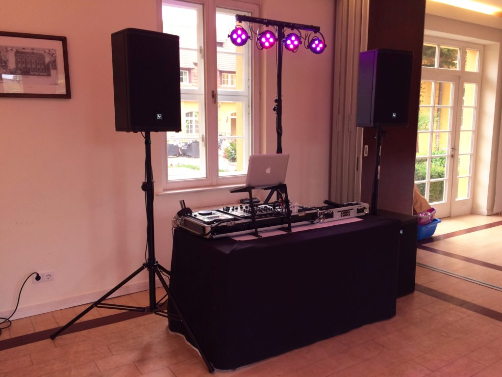 DJ zur Hochzeit im Vierseithof Luckenwalde