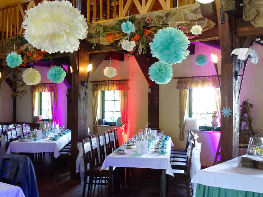DJ in Lübbenau zur Hochzeit Uplighting