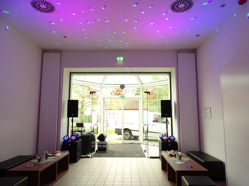 DJ im Haus Schwärzetal Eberswalde zum Brillenball 2017